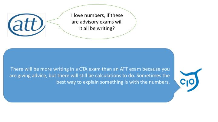 I love numbers, if these are advisory exams will it all be writing?