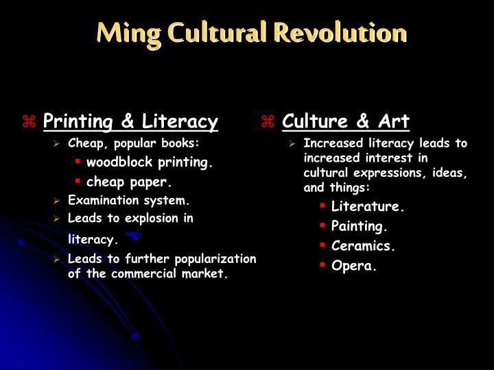 Ming Cultural Revolution