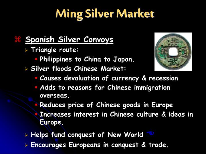 Ming Silver Market