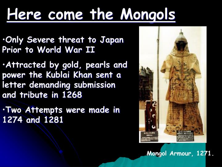 Here come the Mongols