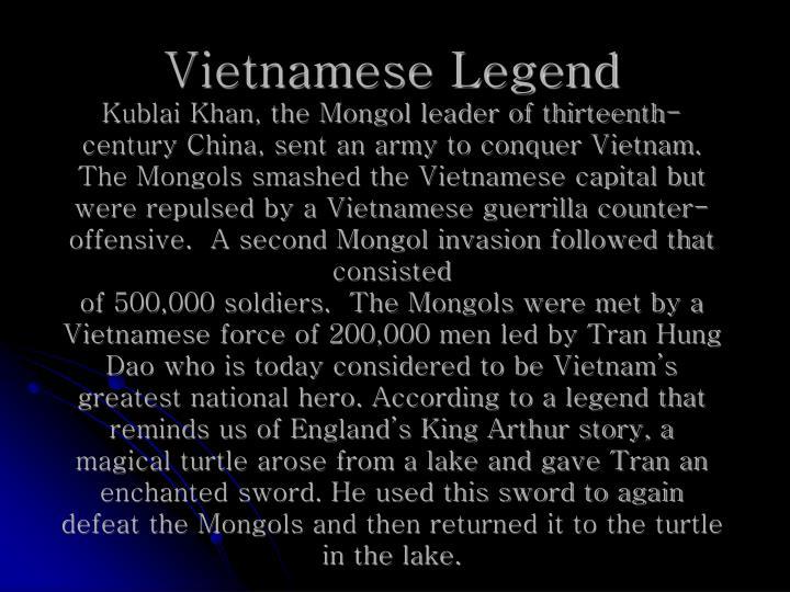 Vietnamese Legend
