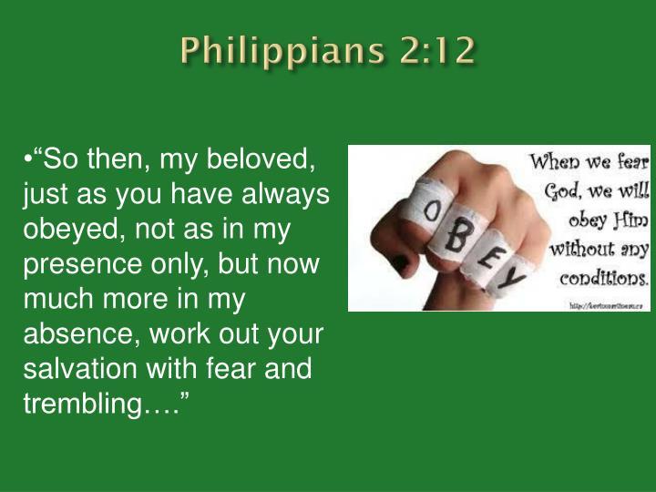 Philippians 2:12