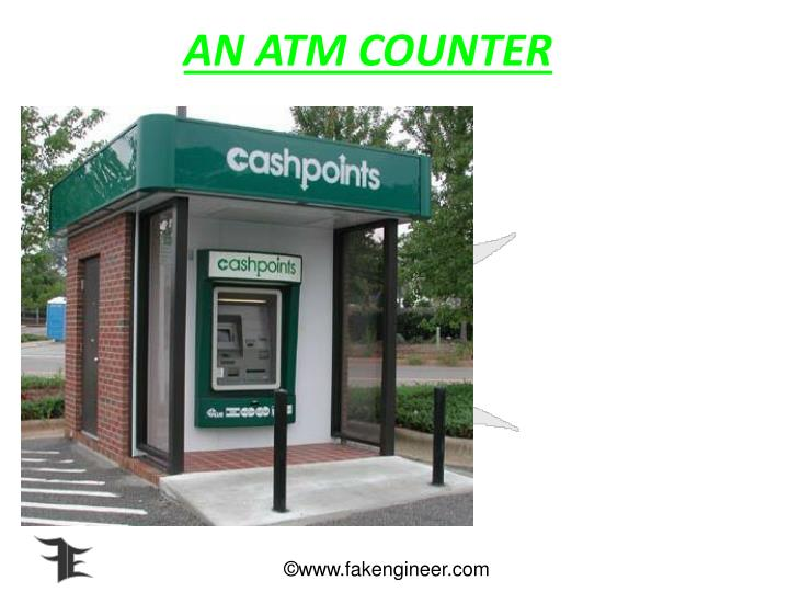 AN ATM COUNTER