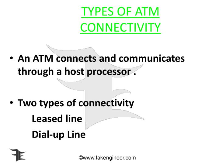 TYPES OF ATM