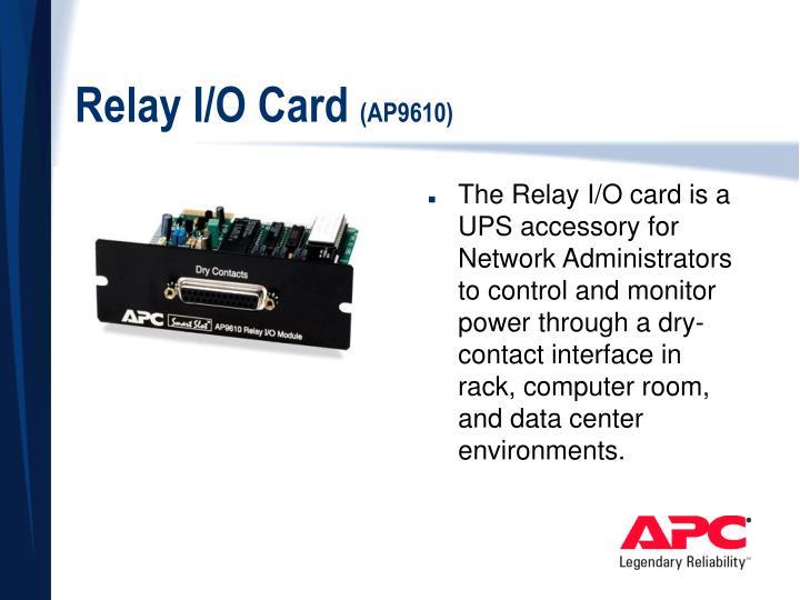 Relay I/O Card