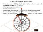 circular motion and force1