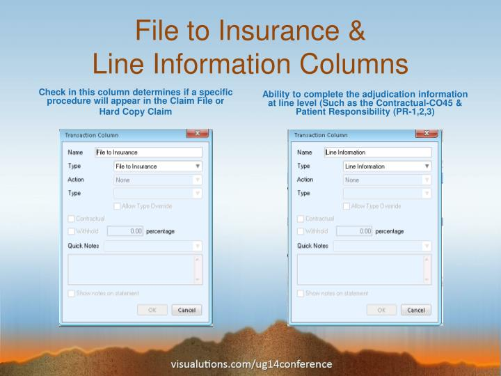 File to Insurance &
