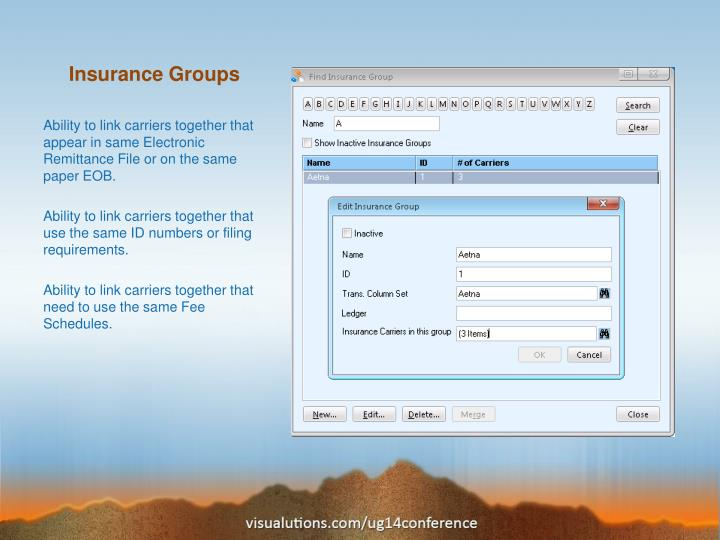 Insurance Groups