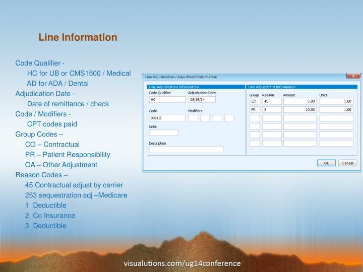 Line Information