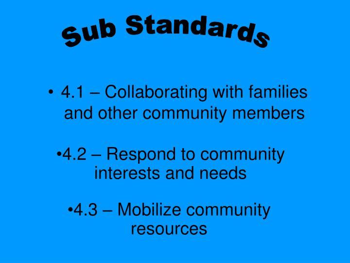 Sub Standards