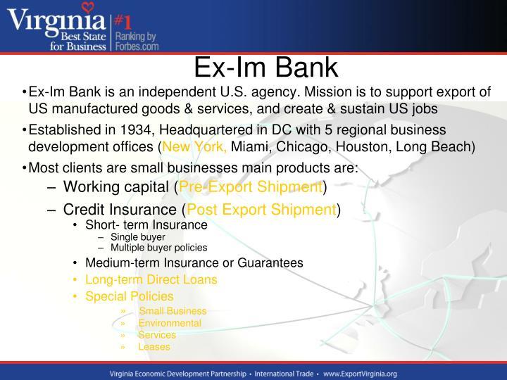 Ex-Im Bank