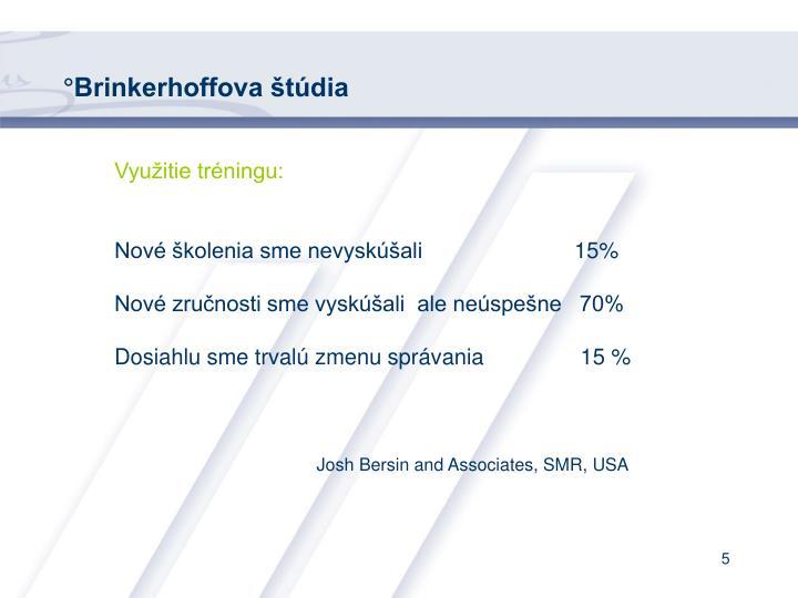 °Brinkerhoffova štúdia