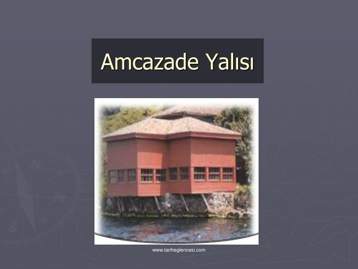 Amcazade Yals