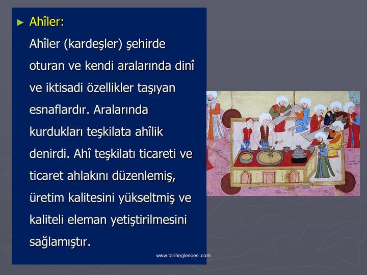 Ahler: