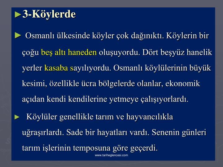 3-Kylerde