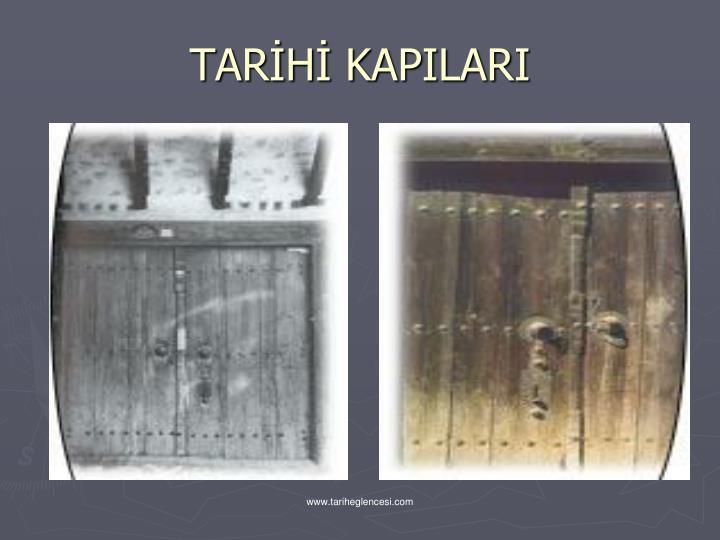 TARH KAPILARI