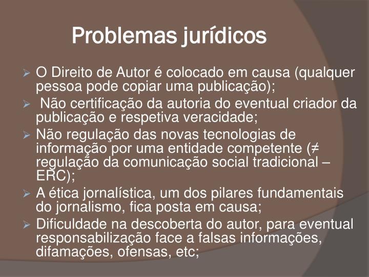 Problemas jurdicos