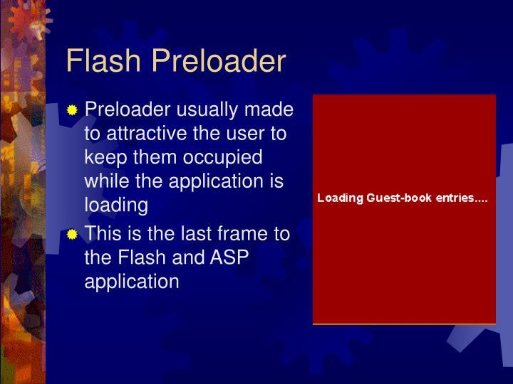 Flash Preloader