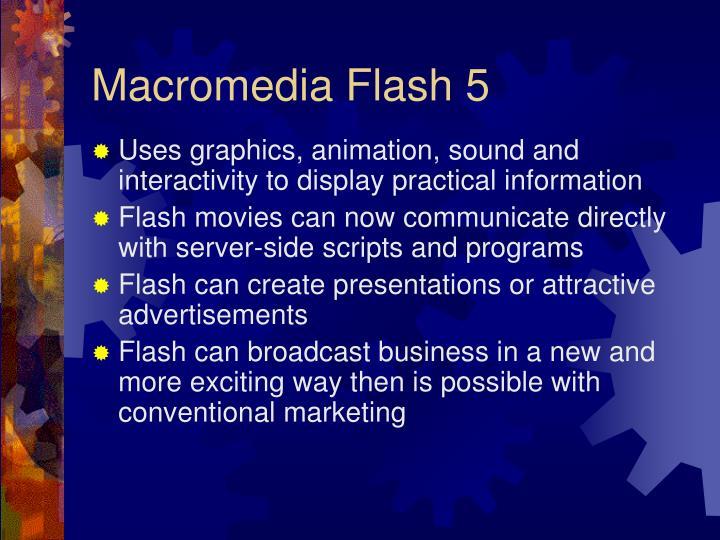 Macromedia Flash 5