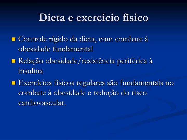 Dieta e exercício físico