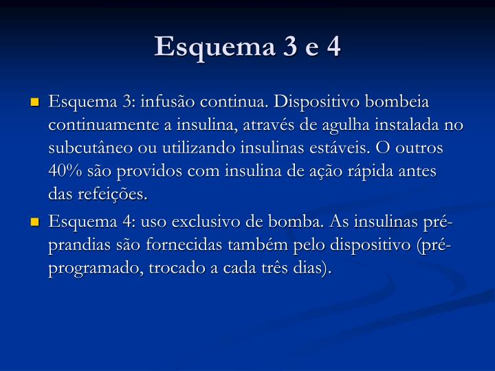 Esquema 3 e 4