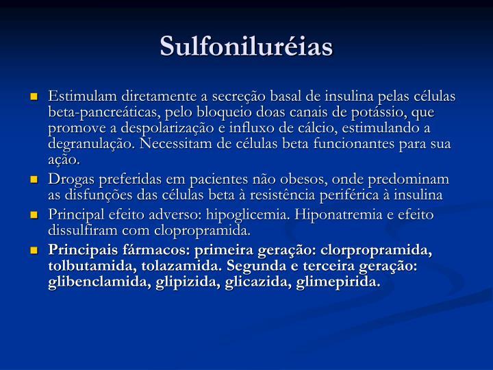 Sulfoniluréias