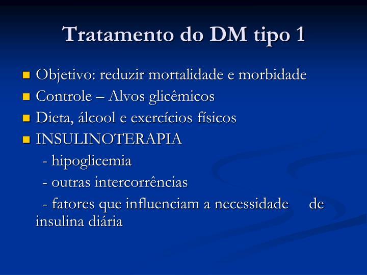 Tratamento do DM tipo 1