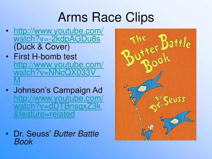 Arms Race Clips