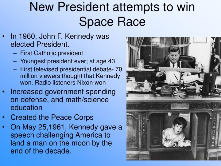 New President attempts to win Space Race