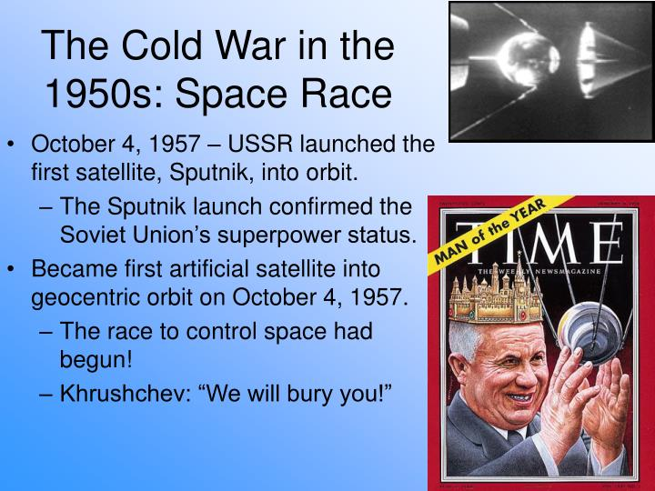 The Cold War in the 1950s: Space Race