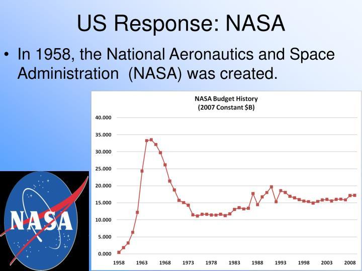 US Response: NASA