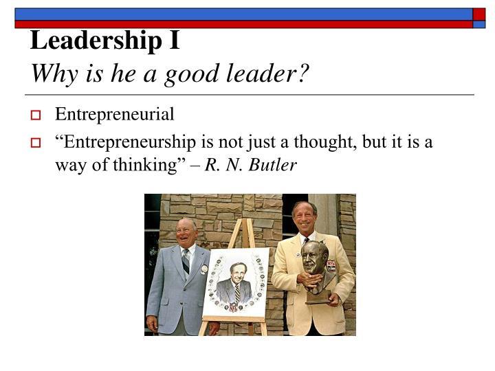 Leadership I