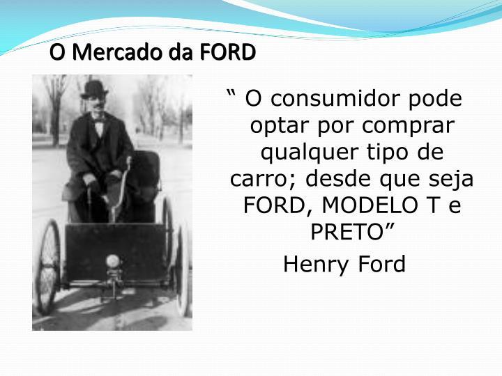 O Mercado da FORD