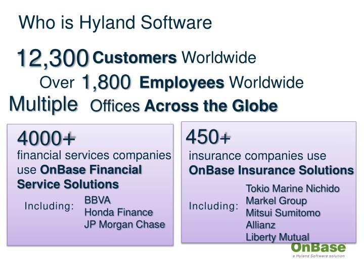 Who is Hyland Software