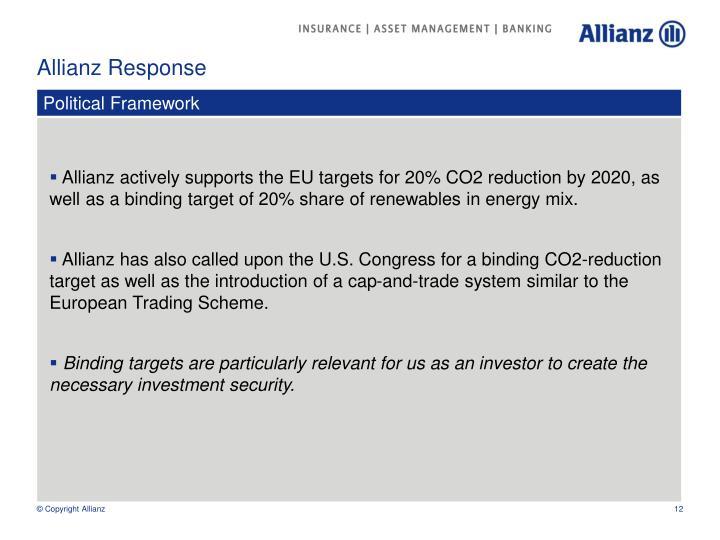 Allianz Response