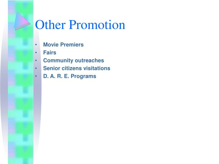 Other Promotion