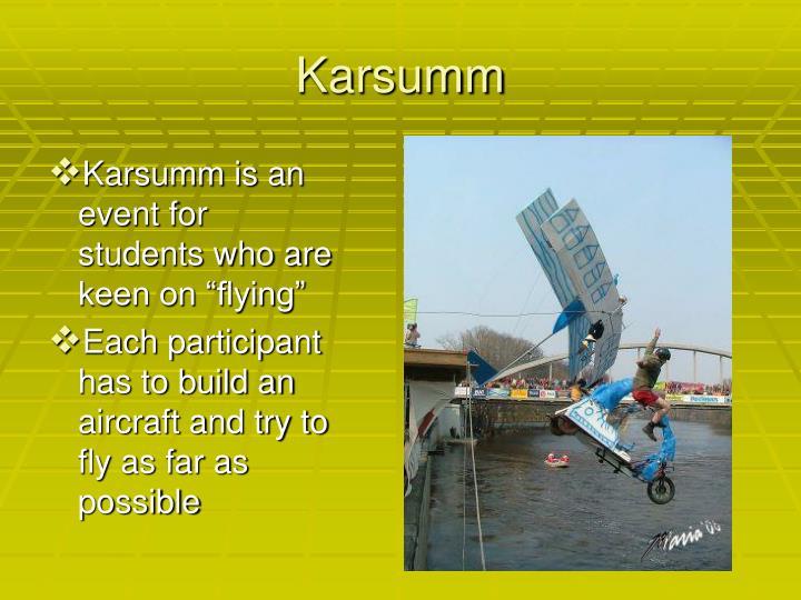 Karsumm