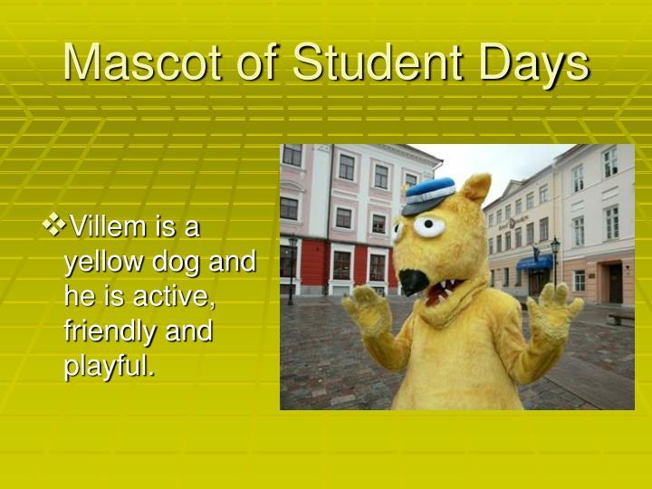Mascot of Student Days
