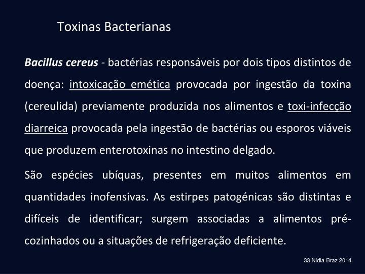 Toxinas Bacterianas