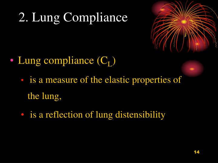 2. Lung Compliance