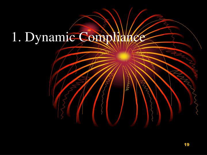 1. Dynamic Compliance
