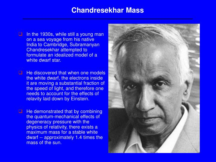 Chandresekhar Mass