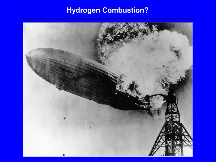 Hydrogen Combustion?