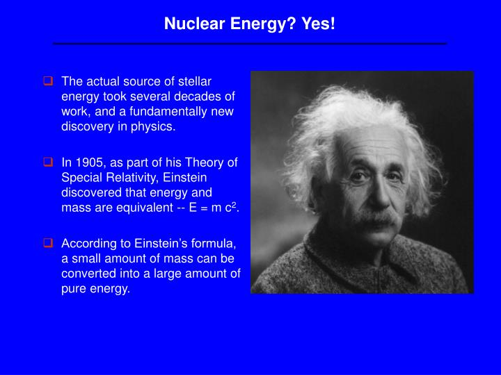 Nuclear Energy? Yes!