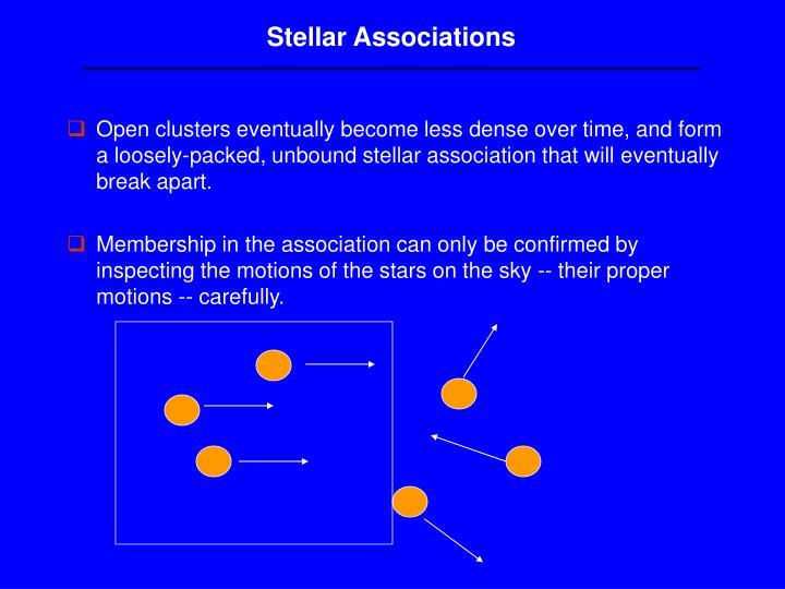 Stellar Associations