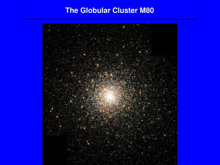 The Globular Cluster M80