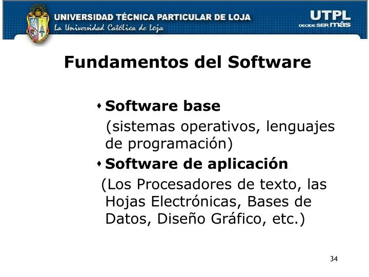 Fundamentos del Software