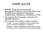 isamp and ike