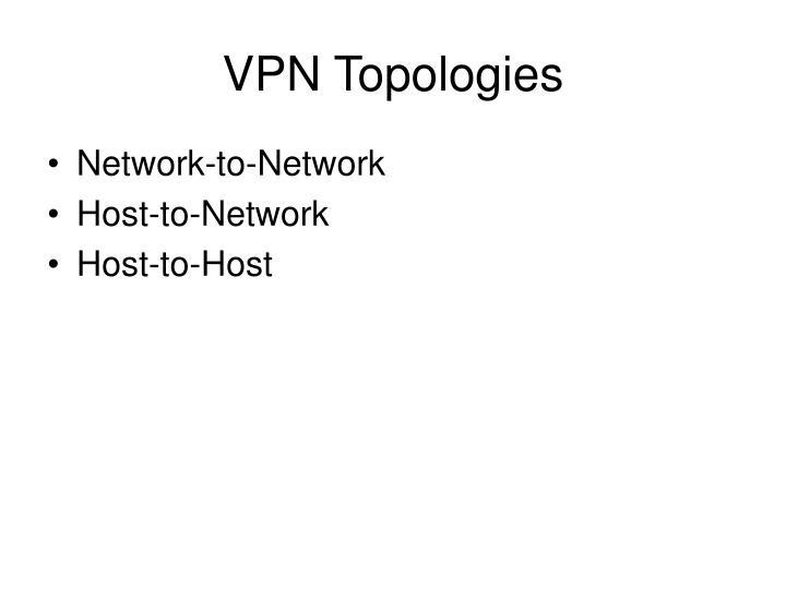 VPN Topologies