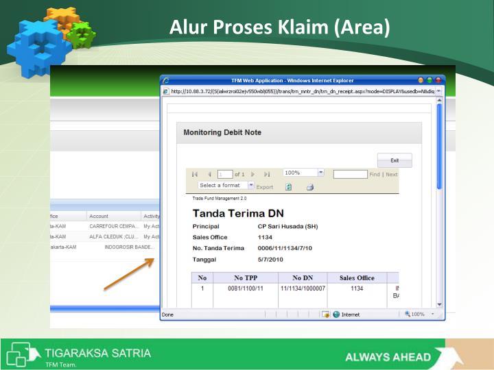 Alur Proses Klaim (Area)